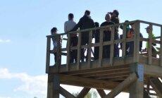 Ķemeru nacionālajā parkā uzceltas jaunas skatu platformas
