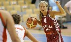 Latvijas sieviešu basketbola izlasē pirms pārbaudes turnīra Čehijā palikušas vien 13 kandidātes
