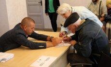 Pagaidām visaktīvākie balsotāji Mērsraga novadā; kūtrākie – Rundāles novadā