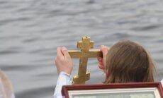 Крещение: в Риге освятят воды Даугавы