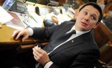 Сейм даст оценку поведению депутата Кайминьша