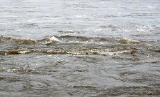 Lielākajā daļā upju sācis kristies ūdens līmenis