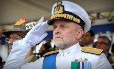 Krievija ap Eiropu būvē 'dzelzs loku', paziņo Itālijas admirālis