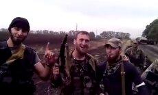 Video: Prokrieviskie kaujinieki filmējas Sņižnē