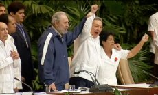 Фидель Кастро поддержал кубинские переговоры с США