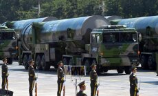 Ķīna pie Krievijas robežas izvieto kodolgalviņas nestspējīgu ballistisko raķeti