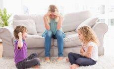 Brāļu un māsu starpā strīds: pieci praktiski padomi vecākiem