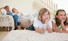 Vecāku un bērnu biežākās kopīgās aktivitātes – TV skatīšanās un datorspēles
