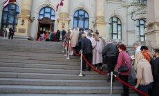 Dienā pēc atvēršanas LNMM galveno ēku apmeklējis teju tūkstotis cilvēku