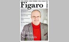 Iznācis žurnāla 'Figaro' ziemas numurs ar Māri Sirmo uz vāka