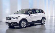 'Opel' jaunais apvidnieks 'Crossland X' aizstās 'Meriva' modeli