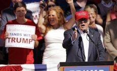 Priekšvēlēšanās Rietumvirdžīnijā uzvar Sanderss; Trampam uzvaras divos štatos