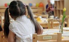 Valdība dod 'zaļo gaismu' sešgadniekiem skolā
