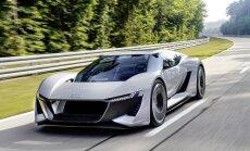 'Audi' sportiskā elektromobiļa koncepts 'PB18 e-tron'