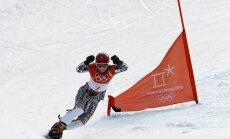 Čehiete Ledecka sasniedz unikālu sasniegumu olimpiskajās spēlēs