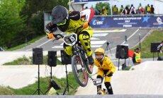 BMX braucēja Pētersone Pasaules kausa posmā nepārvar ceturtdaļfinālu
