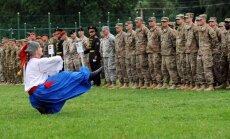 Ukrainā sākas kopīgas ukraiņu un NATO spēku mācības