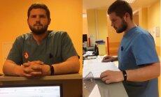 Aleksandrs Vilumsons. Oficiāli medmāsa, bet ikdienā brālītis