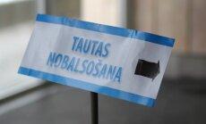 Saeimas komisija vērtēs ieceri referendumu iniciatoriem pašiem savākt 30 000 parakstu