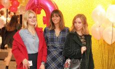 Foto: Stila gardēži pulcējas itāļu modes zīmola jubilejā