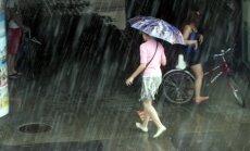 Svētdien gaidāms īslaicīgs lietus