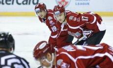 Rīgas 'Dinamo' savā laukumā aizvada maču ar KHL vājāko komandu