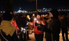 Policija: Jaunais gads Rīgā sagaidīts bez īpašiem starpgadījumiem