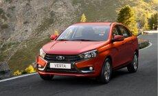Beidzot nosaukta 'Lada Vesta' cena Eiropas tirgum