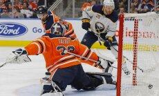 ВИДЕО. Чемпионат НХЛ: Гиргенсонс забросил четвертую шайбу в сезоне