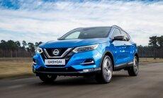 'Nissan' modernizējis 'Qashqai' modeli un aprīkojis to ar autopilota sistēmu