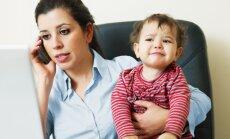 Vieglāki rīti, laika zagļu likvidēšana: iespējas mātes lomas un darba attiecību līdzsvarošanai