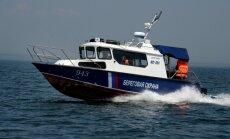 Krievijas robežsargi aiztur Igaunijas motorlaivu