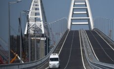 Киев планирует ввести санкции против России из-за Крымского моста