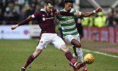 Pēc 69 panākumiem pārtrūkst 'Celtic' futbolistu nezaudēto spēļu sērija