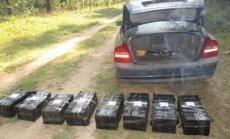 Robežsargi Daugavpilī konfiscē 80 000 kontrabandas cigarešu