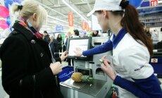 Крупные розничные сети не ожидают большого роста продаж в Латвии