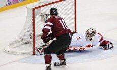 Latvijas hokejistu pirmie pretinieki - NHL miljonāri