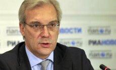 NATO mēģinājumi izrādīt spēku pret Krieviju būs neveiksmīgi, brīdina krievu diplomāts