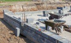 Pirmie soļi pretī jaunai mājai – svarīgākais par pamatu būvniecību