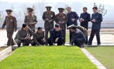'Reuters': sankcijas ievērojami kavē Ziemeļkorejas darbu pie atombumbas