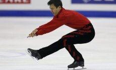 Kanādietis Čans trešo reizi pēc kārtas kļūst par pasaules čempionu daiļslidošanā