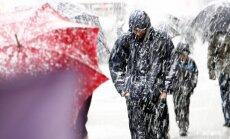 Синоптики: на выходных ожидаются снег, метель и дождь