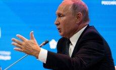 Uzticība Putinam sarukusi līdz 39%, liecina aptauja