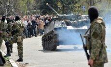 Krievija devusi rīkojumu nogalināt 200 cilvēkus, lai varētu ievest Ukrainā tankus, paziņo izlūkdienests