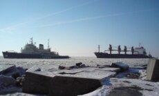 Рижский порт готов к зимней и ледовой навигации