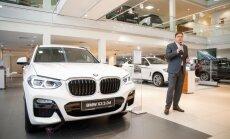 Foto: Latvijā prezentēts jaunais 'BMW X3' apvidnieks