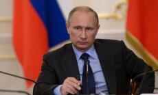 Putins sola Krievijā nepieļaut 'krāsainās revolūcijas'