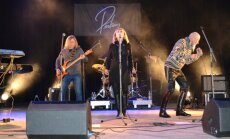 Fotoreportāža: Koncertturneju 'Sapumpurots zars' atklāj grupa 'Pērkons'