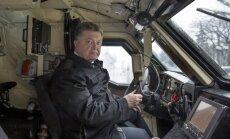 Porošenko cer uz Ukrainas dalību ES un NATO līdz 2030. gadam