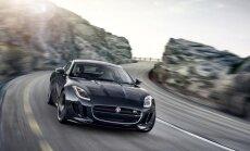 'Jaguar F-Type SVR' līdz 100 km/h paātrināsies 3,7 sekundēs